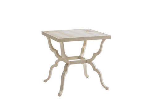 Image of Misty Garden Square End Table