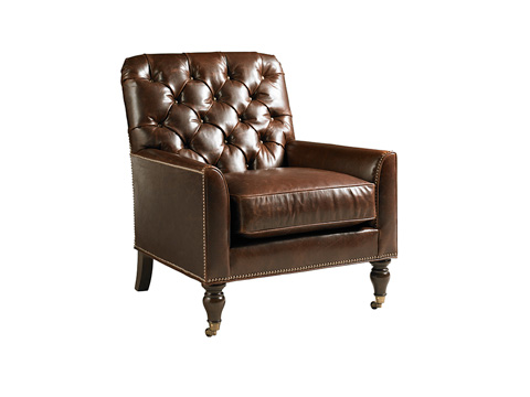 Image of Sandhurst Leather Chair