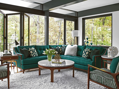 Image of Take Five Barclay Two Piece Living Room Collection