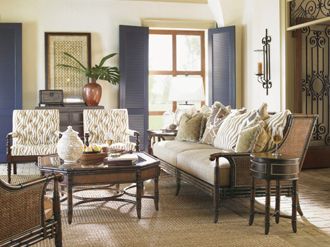Image of Tommy Bahama Las Palmas Living Room Collection
