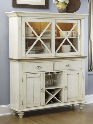Image of X Front Dining Buffet and Hutch