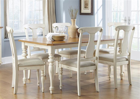Image of Rectangular Leg Dining Table