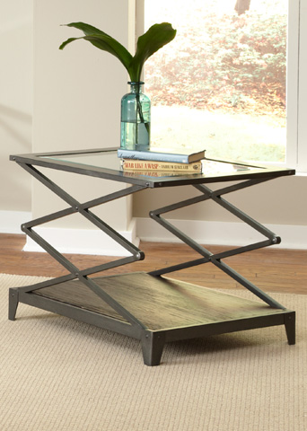 Liberty Furniture - Industrial Wire Brushed End Table - 197-OT1020