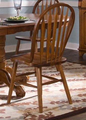 Liberty Furniture - Arrow Back Windsor Side Chair - 10-C553S