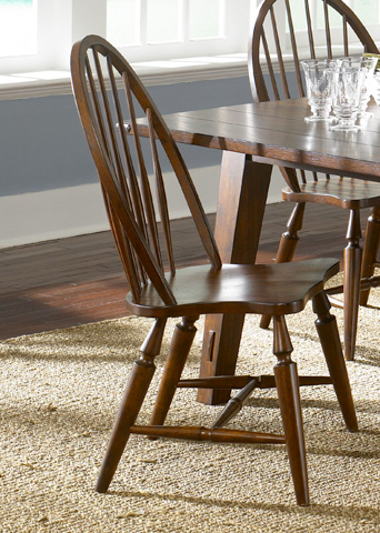Liberty Furniture - Windsor Back Side Chair - 121-C1000S
