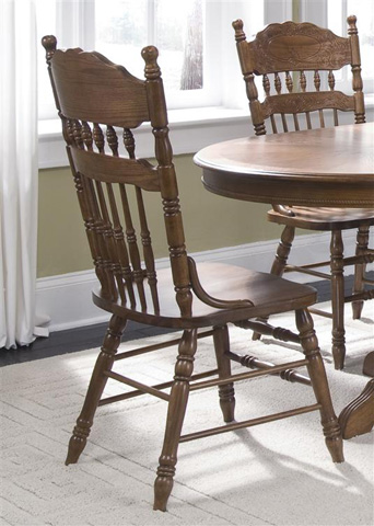 Liberty Furniture - Embossed Back Side Chair - 18-C563S