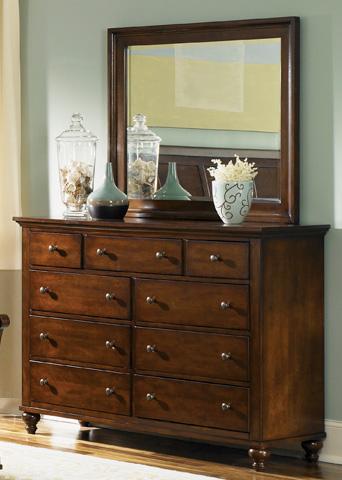 Liberty Furniture - Nine Drawer Dresser - 341-BR32