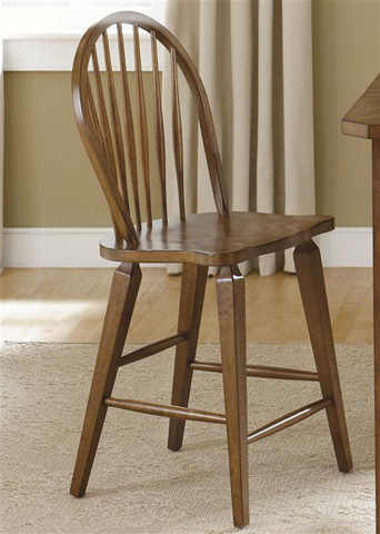 Liberty Furniture - Windsor Back Counter Chair - 382-B100024