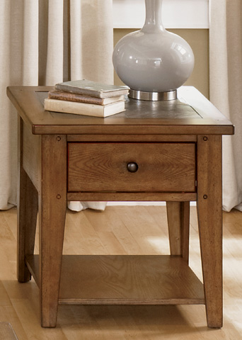 Liberty Furniture - End Table - 382-OT1020
