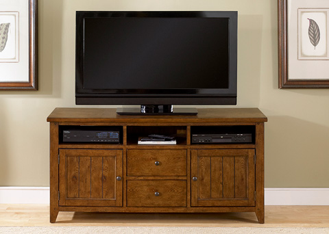 Liberty Furniture - Entertainment TV Stand - 382-TV62