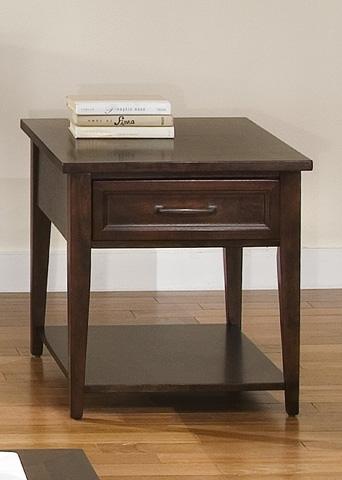 Liberty Furniture - Rectangular End Table - 481-OT1020