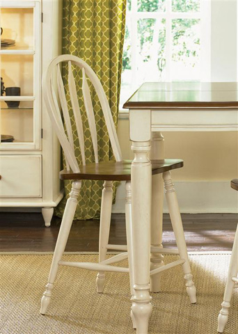 Liberty Furniture - Windsor Back Barstool - 79-B100024