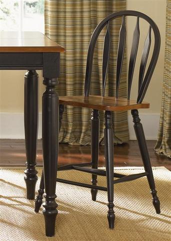 Liberty Furniture - Windsor Back Barstool - 80-B100024