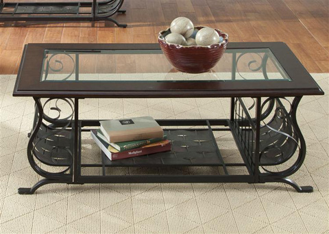 Liberty Furniture - Rectangular Cocktail Table - 103-OT1010