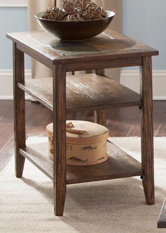Liberty Furniture - Chair Side Table - 107-OT1021
