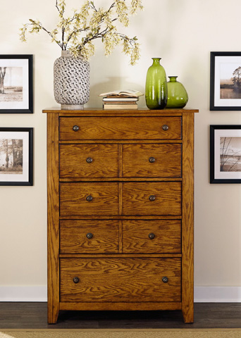 Liberty Furniture - Five Drawer Chest - 175-BR41