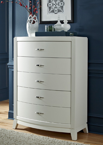 Liberty Furniture - Five Drawer Chest - 205-BR41