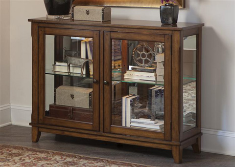 Liberty Furniture - Console Curio - 382-CU4635