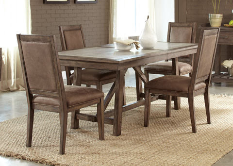 Liberty Furniture - Trestle Dining Table - 466-T4096