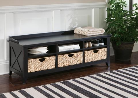 Liberty Furniture - Cubby Storage Bench - 482-OT47