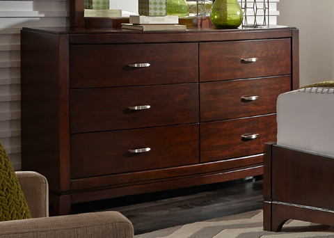 Liberty Furniture - Six Drawer Dresser - 505-BR31
