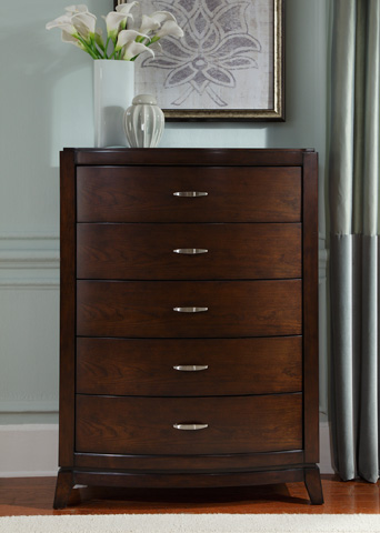 Liberty Furniture - Five Drawer Chest - 505-BR41