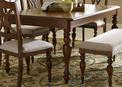 Liberty Furniture - Rectangular Leg Dining Table - 507-T4078
