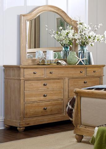 Liberty Furniture - Seven Drawer Dresser - 531-BR31
