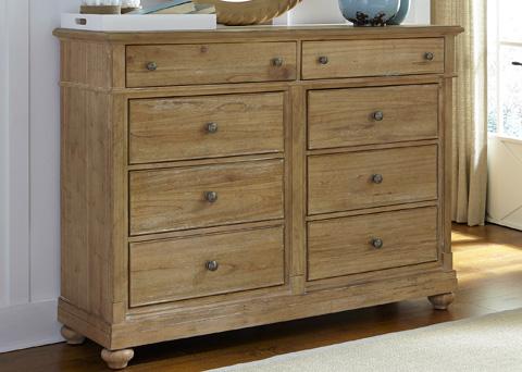 Liberty Furniture - Eight Drawer Bureau - 531-BR32