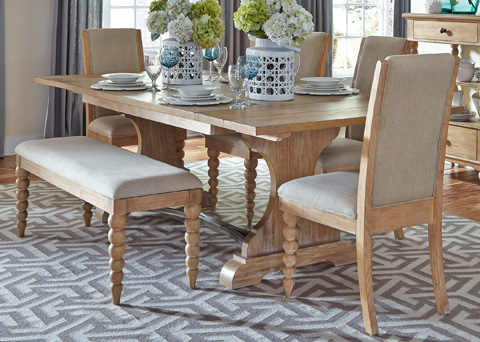 Liberty Furniture - Trestle Dining Table - 531-T4294