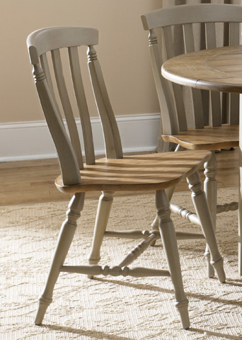 Liberty Furniture - Slat Back Side Chair - 541-C1500S
