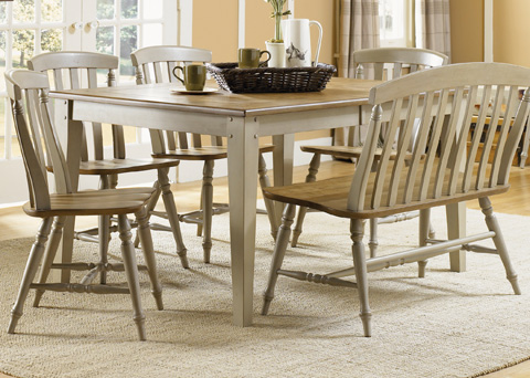 Liberty Furniture - Rectangular Leg Dining Table - 541-T4074