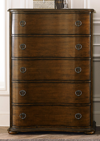 Liberty Furniture - Five Drawer Chest - 545-BR41