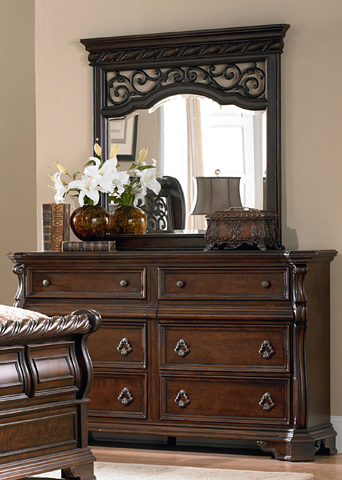 Liberty Furniture - Eight Drawer Double Dresser - 575-BR31