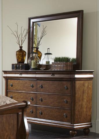 Liberty Furniture - Eight Drawer Dresser - 589-BR31