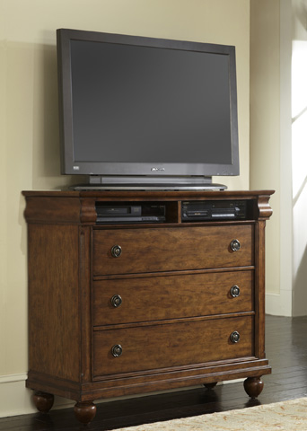 Liberty Furniture - Media Chest - 589-BR45