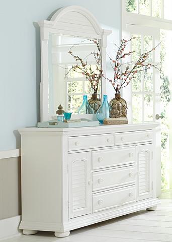 Liberty Furniture - Two Door Five Drawer Dresser - 607-BR32