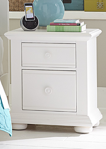 Liberty Furniture - Two Drawer Nightstand - 607-BR60