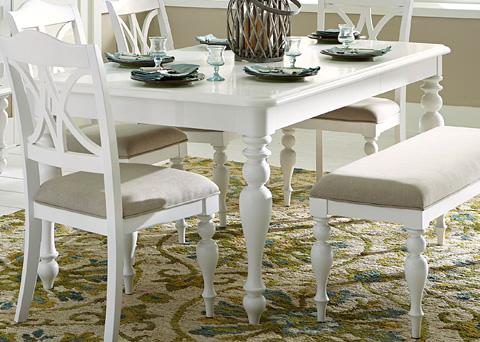 Liberty Furniture - Rectangular Leg Dining Table - 607-T4078