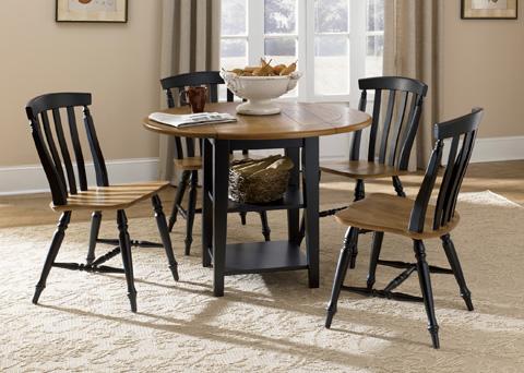 Liberty Furniture - Drop Leaf Leg Dining Table - 641-T4242