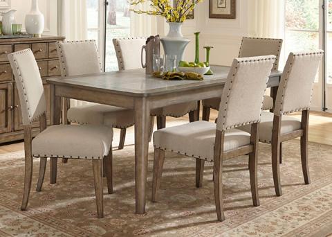 Liberty Furniture - Rectangular Leg Dining Table - 645-T3872