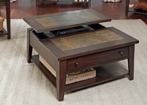 Liberty Furniture - Lift Top Cocktail Table - 682-OT1011