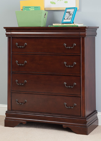 Liberty Furniture - Four Drawer Chest - 709-BR40