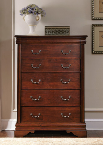 Liberty Furniture - Six Drawer Chest - 709-BR41