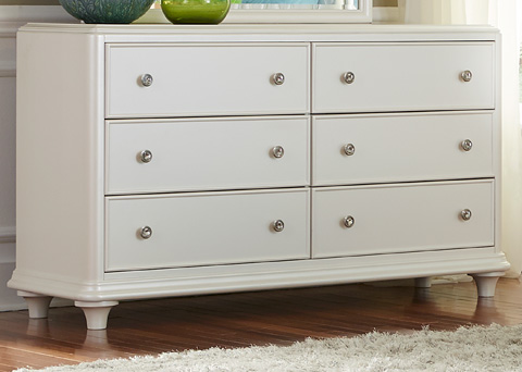 Liberty Furniture - Six Drawer Dresser - 710-BR30