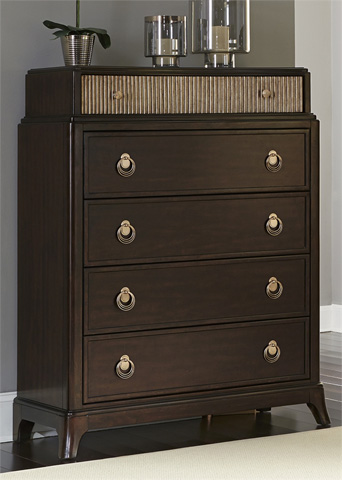 Liberty Furniture - Five Drawer Chest - 736-BR41