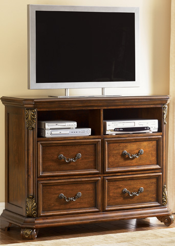 Liberty Furniture - Four Drawer Media Chest - 737-BR45