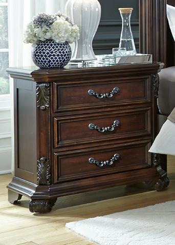 Liberty Furniture - Three Drawer Nightstand - 737-BR61