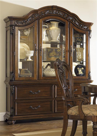 Liberty Furniture - Buffet with Hutch - 737-CB6384