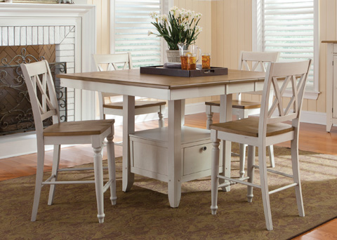 Liberty Furniture - Gathering Table - 841-GT5454